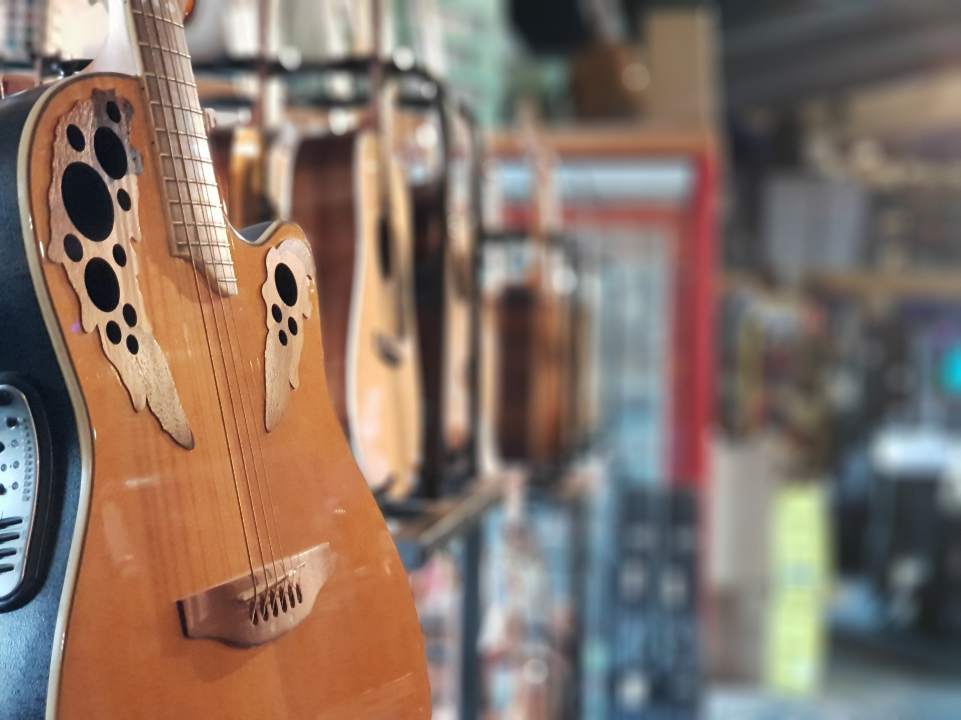 Jaccoud Music - guitare gros plan